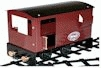 1352GV Mamod O Gauge railway Guards Van